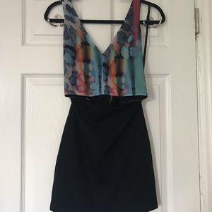 Cut-out Mini Dress